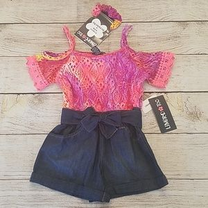 Limited Too NWT 4T Tie Dye Style Romper